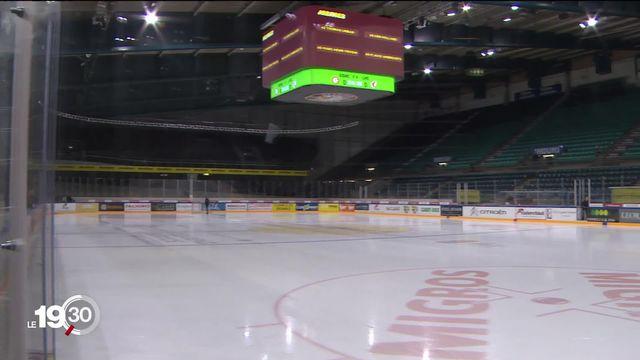 Pour faire face aux pertes liées au coronavirus, les clubs de hockey prennent des mesures. [RTS]