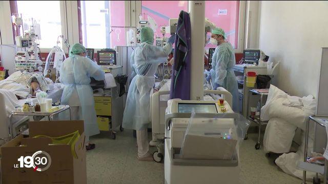 Coronavirus: la majorité des patients traités aux soins intensifs de Genève souffrent de surpoids ou d'obésité. Notre enquête. [RTS]