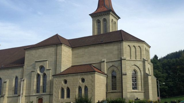 L'Eglise Saint-Maurice à Ursy (FR). [Wikimedia/cath.ch]