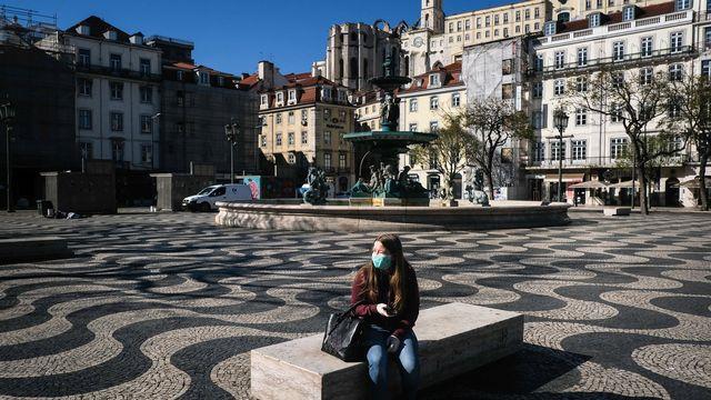 Lisbonne pendant la pandémie. [Mario Cruz - EPA/Keystone]