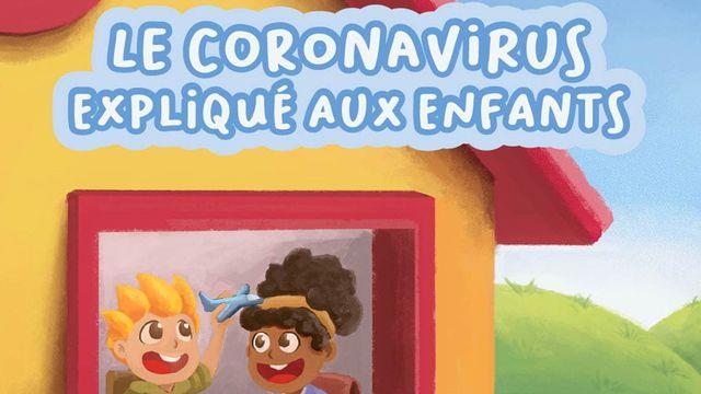 Le coronavirus expliqué aux enfants, un livre de Julie Hausler. [Henrique Mueller - Helvetia Editions]