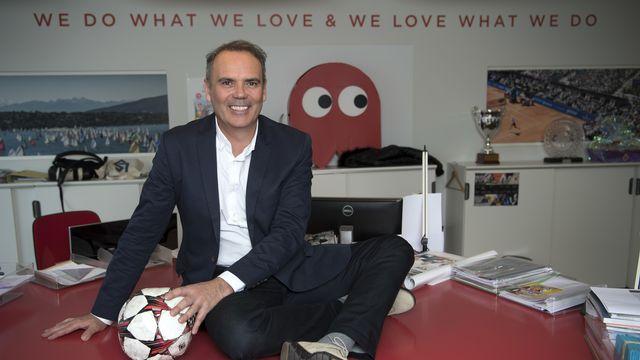 Jean-François Collet est aussi vice-président de la Swiss Football League (SFL). [Laurent Gillieron - KEYSTONE]