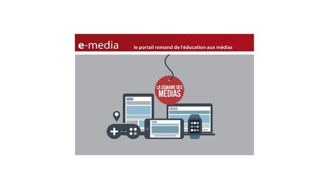 Les fiches pédagogiques d'e-media consacrées à la Semaine des médias 2017 [Semaine des médias à l'école - e-media.ch]
