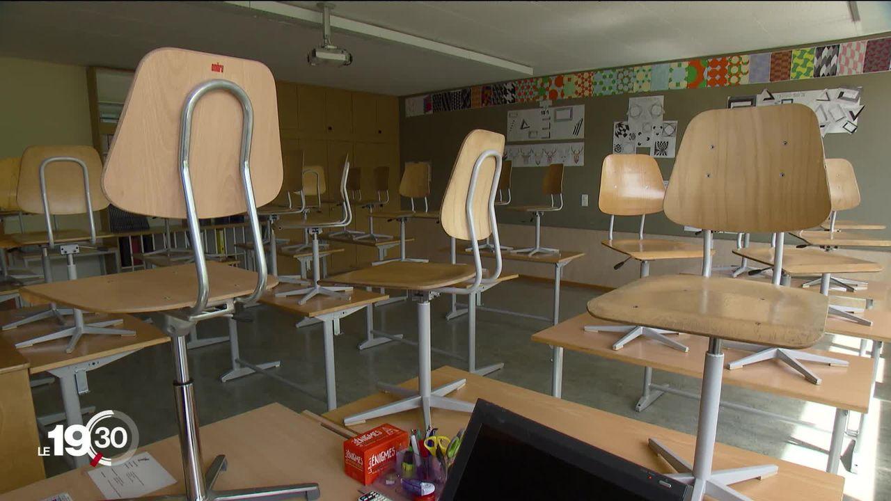 L'école obligatoire reprendra le 11 mai pour les élèves suisses, mais il reste beaucoup d'incertitudes selon les cantons [RTS]