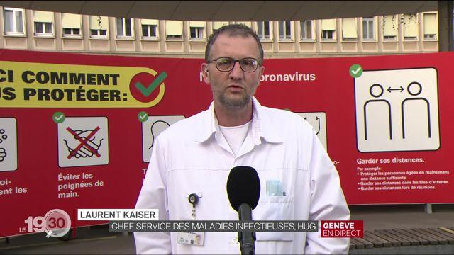 """Prof. Laurent Kaiser : """"Oui, les enfants sont moins vecteurs du virus que les adultes"""" [RTS]"""