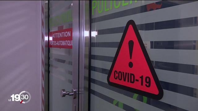 La réalité quotidienne des patients atteints du Covid-19 et de leurs proches est parfois difficile [RTS]