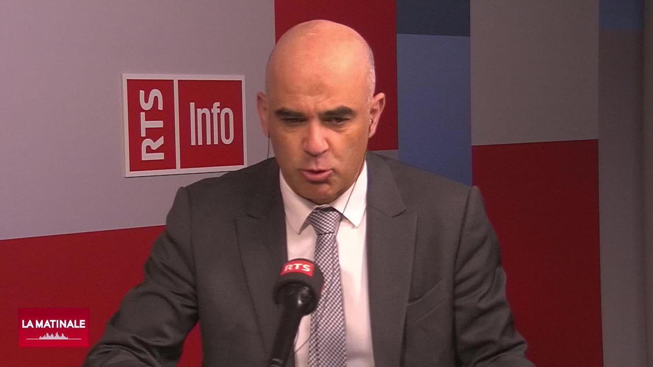 L'invité de la Matinale - Alain Berset (émission spéciale) (vidéo) [RTS]