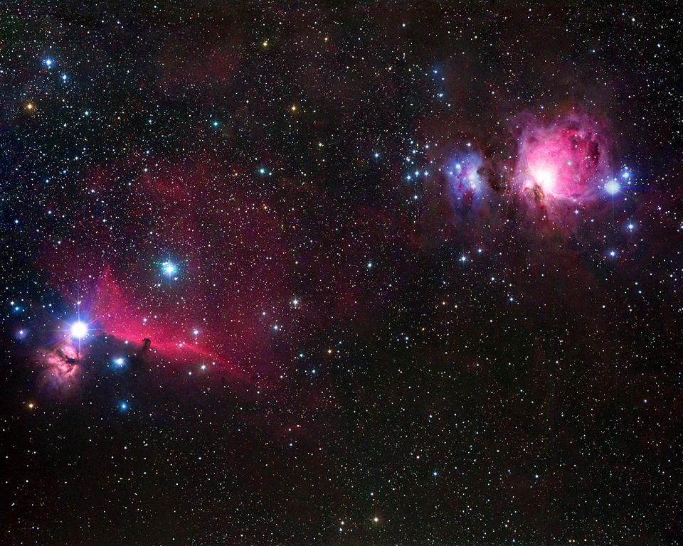 Il est plus facile d'observer le ciel à l'œil nu sans pollution lumineuse. [B.&S.Fletcher / Leemage - AFP]