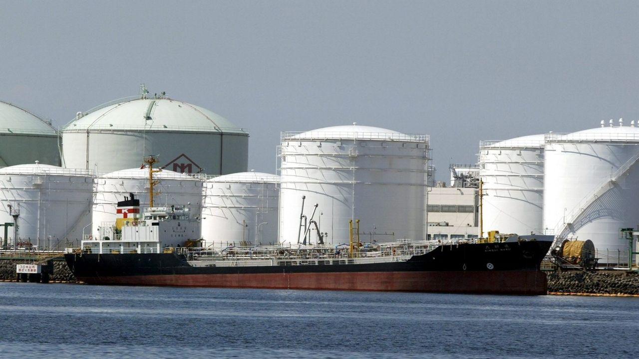 Les stocks de pétrole brut sont au plus haut dans le monde. [Everett Kennedy Brown - EPA/Keystone]