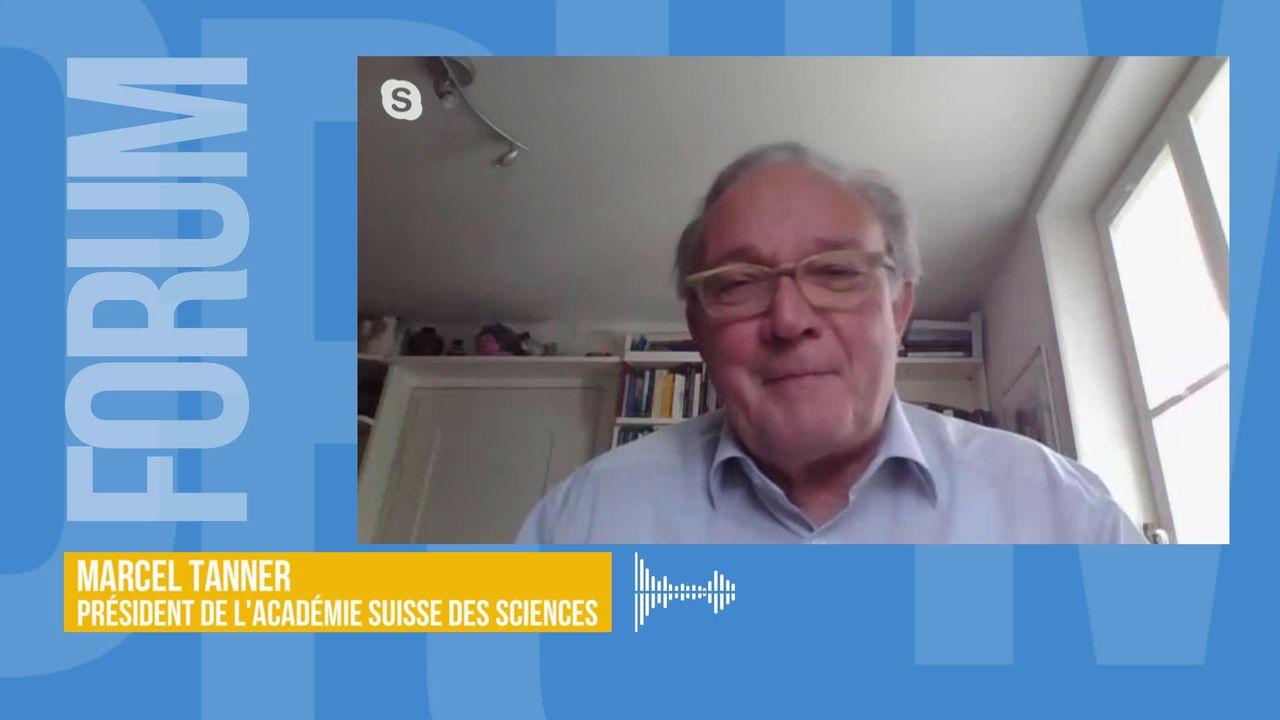 Le déconfinement, un long processus qui n'est pas sans certains risques: interview de Marcel Tanner [RTS]