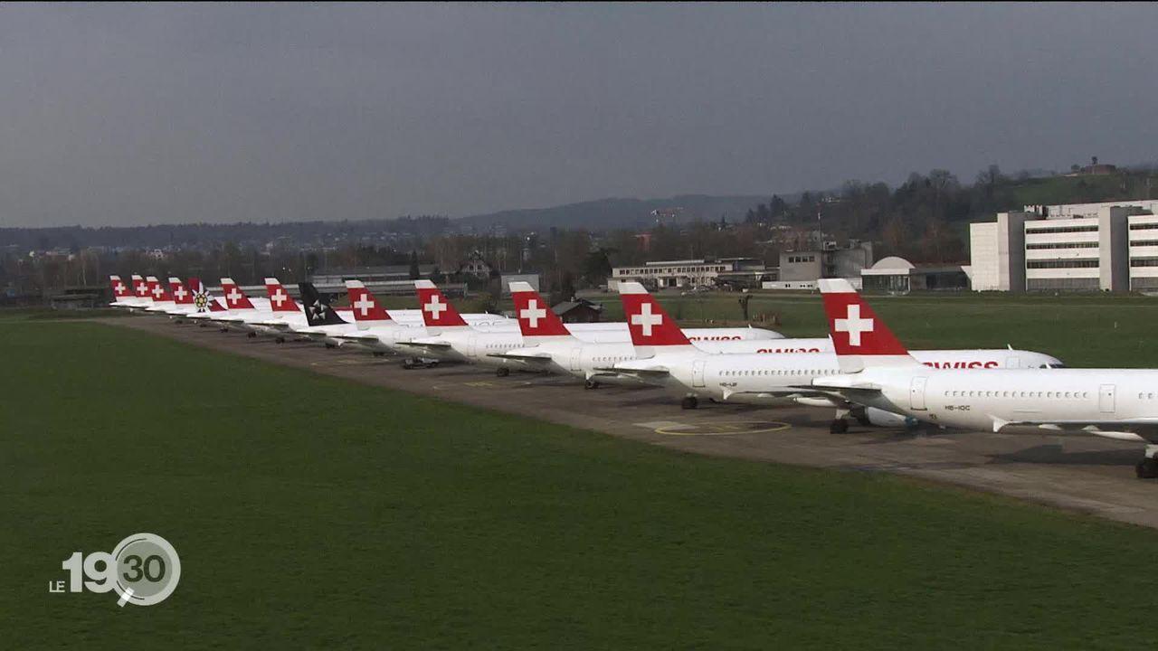 Les pilotes de ligne risquent de perdre leur licence de vol faute de mouvements aériens. C'est toute une profession en danger. [RTS]