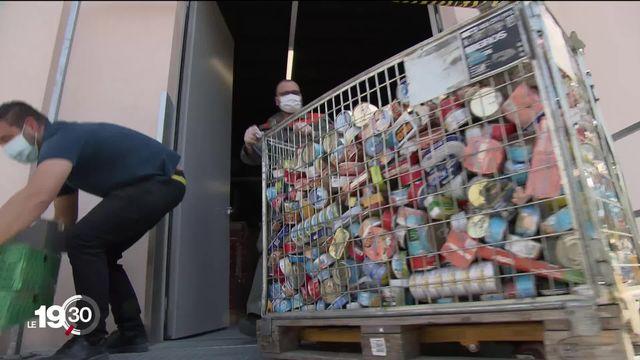 A Lausanne, les structures d'entraide croulent sous les demandes de familles en situation précaire [RTS]