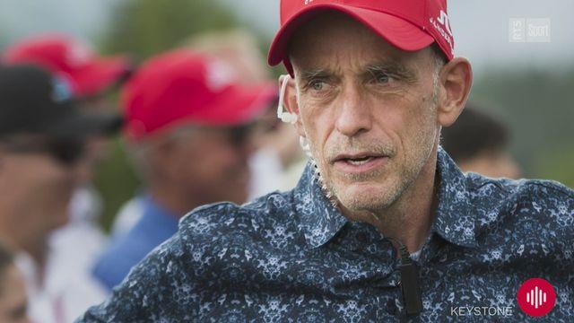 Golf: ''Tout le monde va souffrir de la crise économique'', explique Yves Mittaz [RTS]