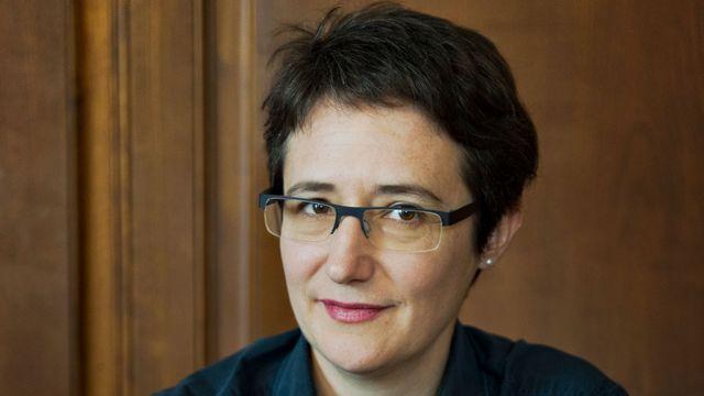 L'écrivain Annette Hug. [Florian Bachmann - Editions ]