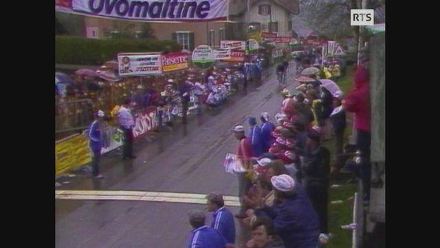 1re étape du TdR 1982: Tommy Prim gagne à Ecoteaux [RTS]