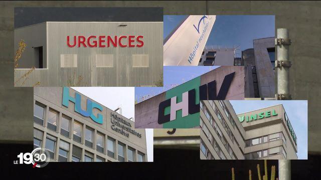 """Série """"le monde d'après"""" : réflexions sur notre système sanitaire avec notamment la question du nombre d'hôpitaux en Suisse. [RTS]"""