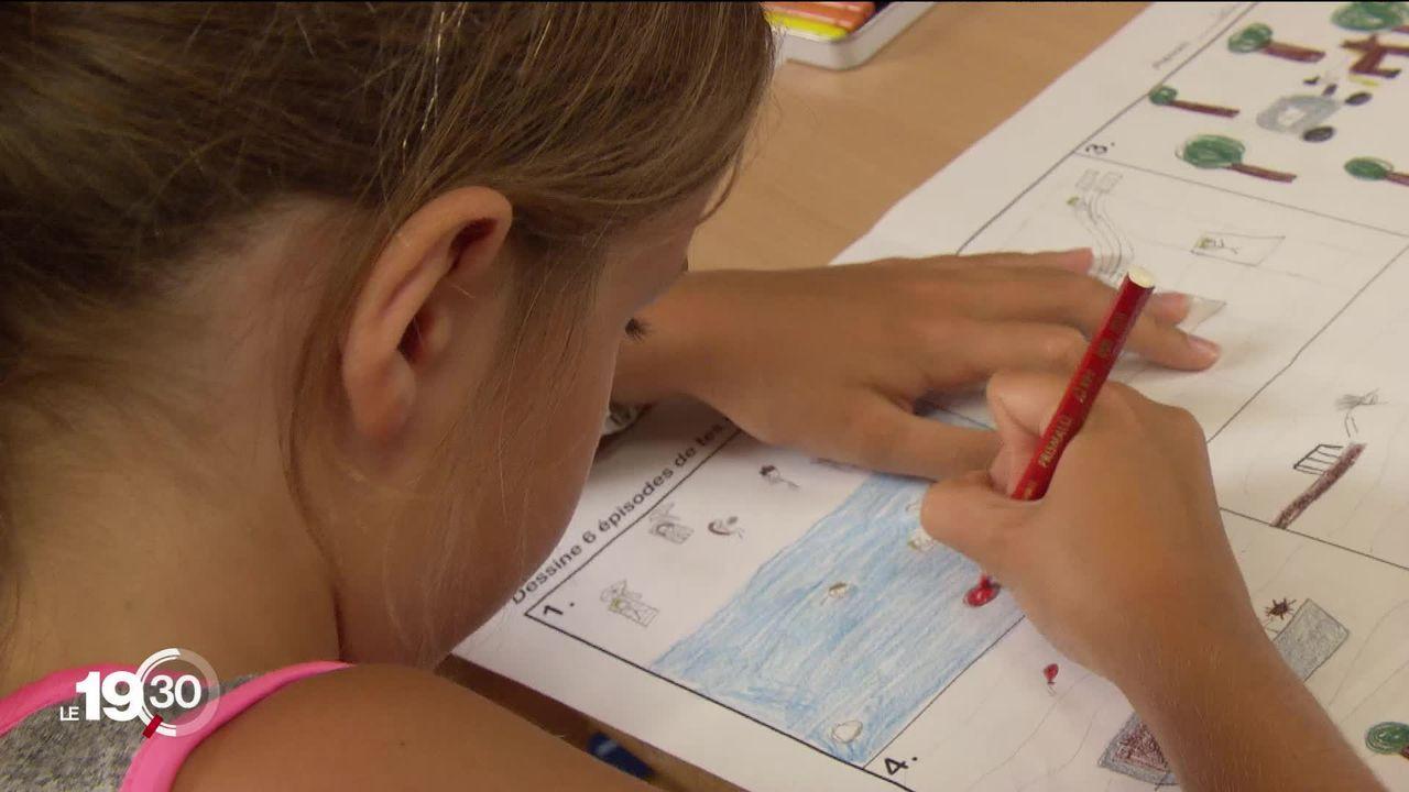 La plupart des cantons romands ont présenté leur dispositif pour la rentrée scolaire du 11 mai. [RTS]