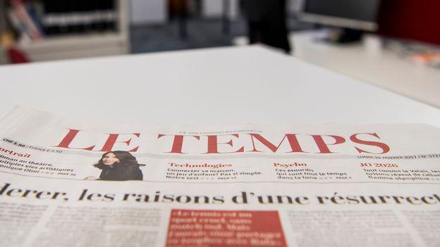 Économie : De riches mécènes romands négocient le rachat du journal Le Temps |