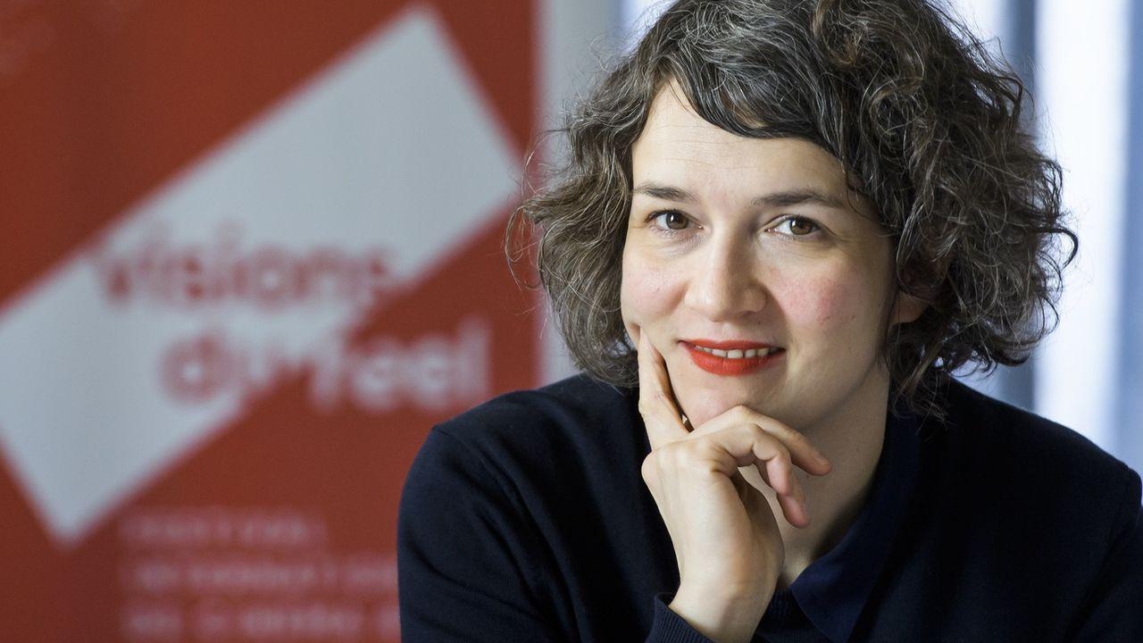 Emilie Bujès, directrice artistique du Festival Visions du Réel à Nyon. [Jean-Christophe Bott - Keystone]