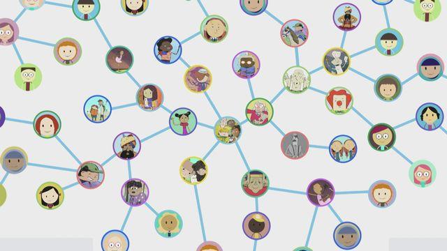 Les réseaux sociaux (dès 6 ans) [RTS]