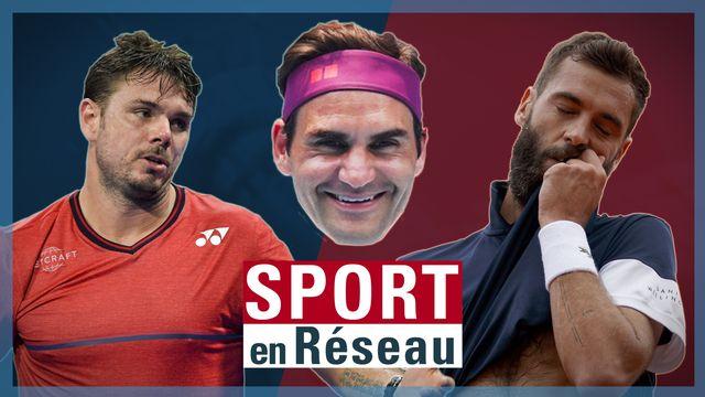 Wawrinka et Paire ont parlé de Federer cette semaine sur les réseaux sociaux. [RTS]