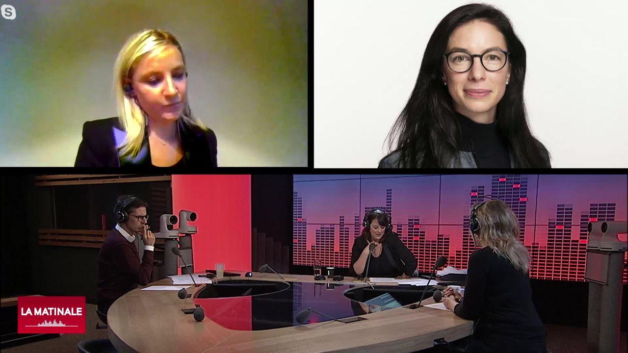 Les invitées de la matinale (vidéo) – Céline Amaudruz et Céline Vara [RTS]