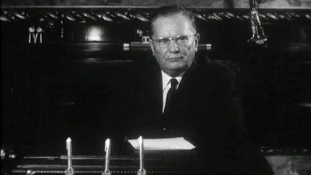 Le maréchal Tito en 1963 [RTS]