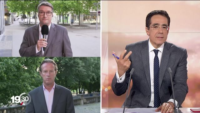 """Christian Levrat, président du PS: """"La priorité est que les petits revenus ne perdent pas trop d'argent"""" [RTS]"""
