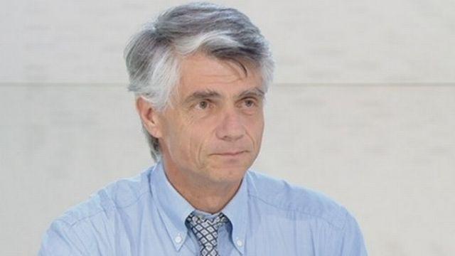 Jacques-André Romand, médecin cantonal genevois. [RTS]