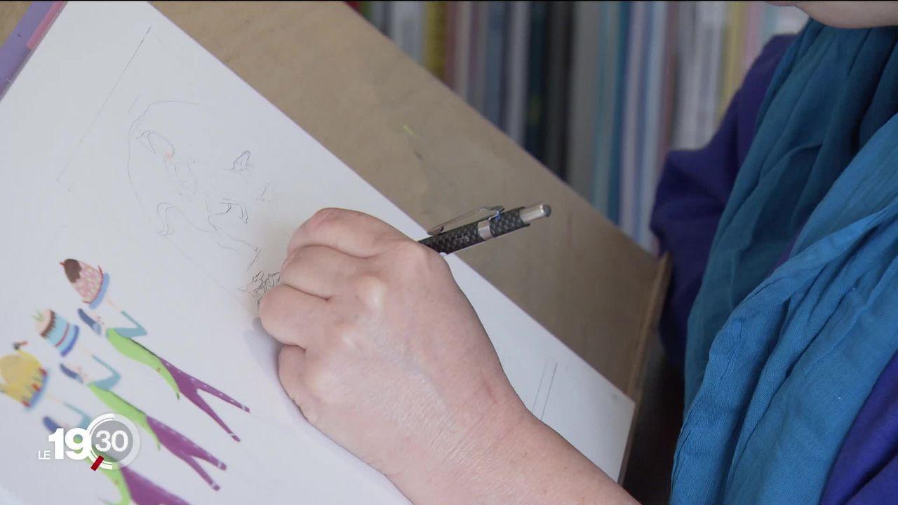 La dessinatrice genevoise a remporté le prix Hans-Christian Andersen, plus prestigieuse distinction de la littérature jeunesse. [RTS]