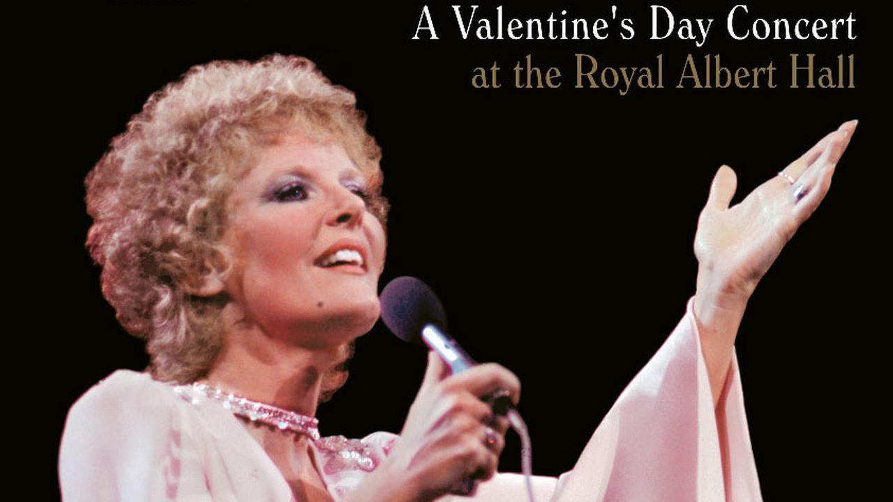 """La couverture du disque """"A Valentine's Day Concert"""" de Petula Clark. [DR]"""