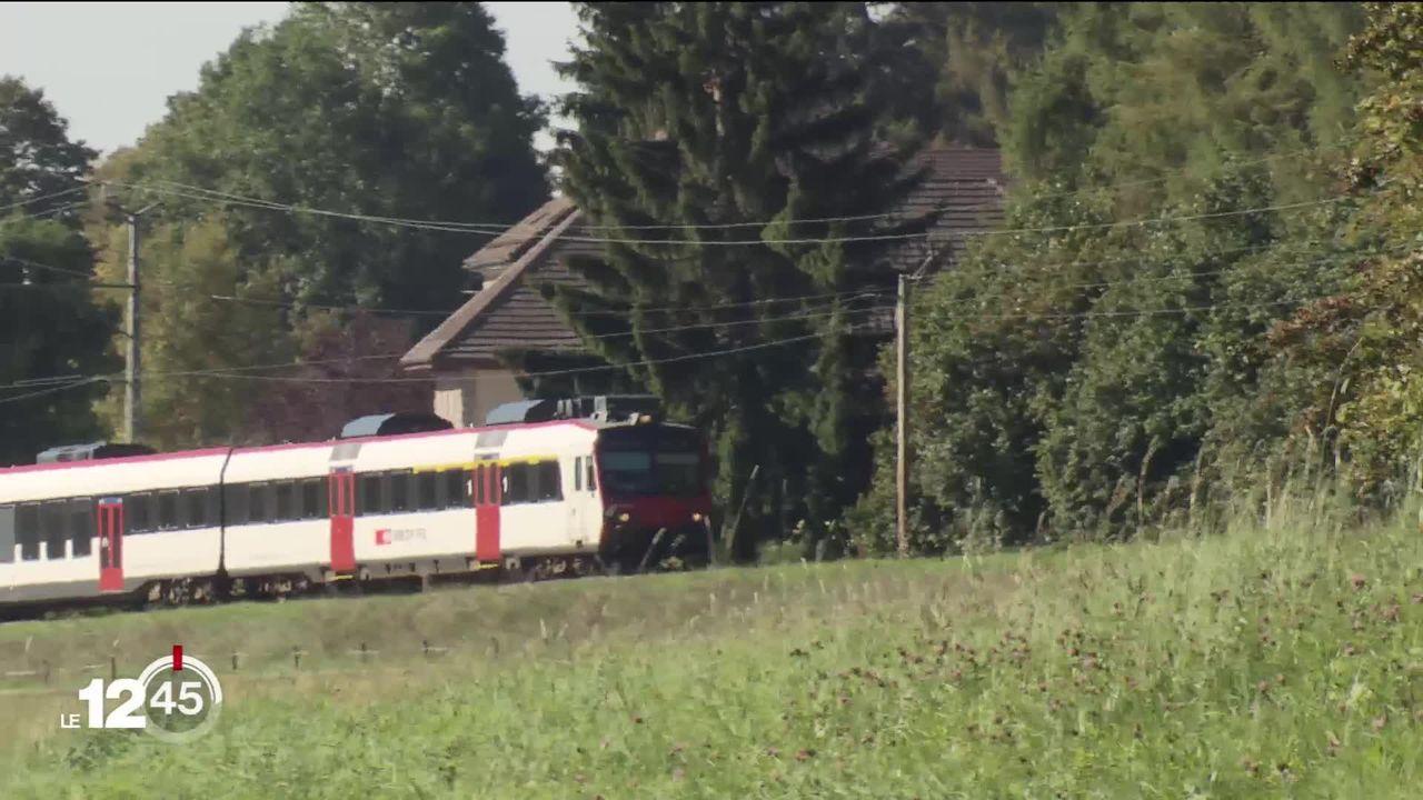 A Neuchâtel, pour le projet de RER un crédit de 114 millions est soumis au Grand Conseil. [RTS]