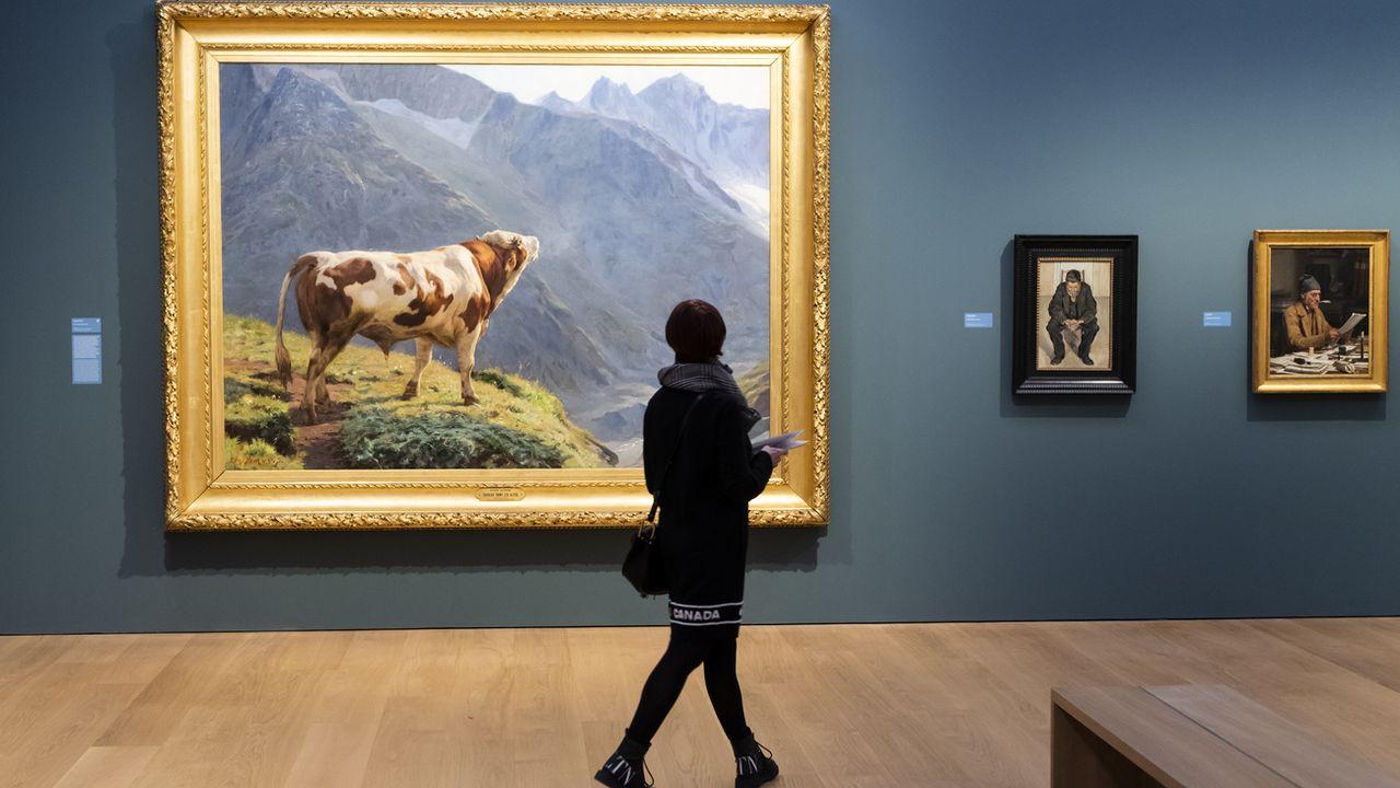 Les premiers musées devraient rouvrir le lundi 11 mai en Suisse [Jean-Christophe Bott - Keystone]