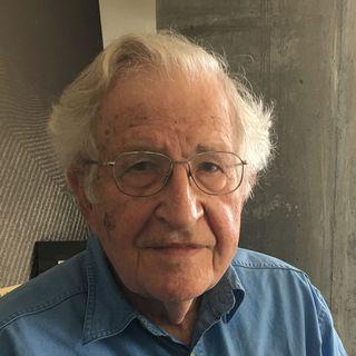 Noam Chomsky. [Philippe Revaz - RTS]