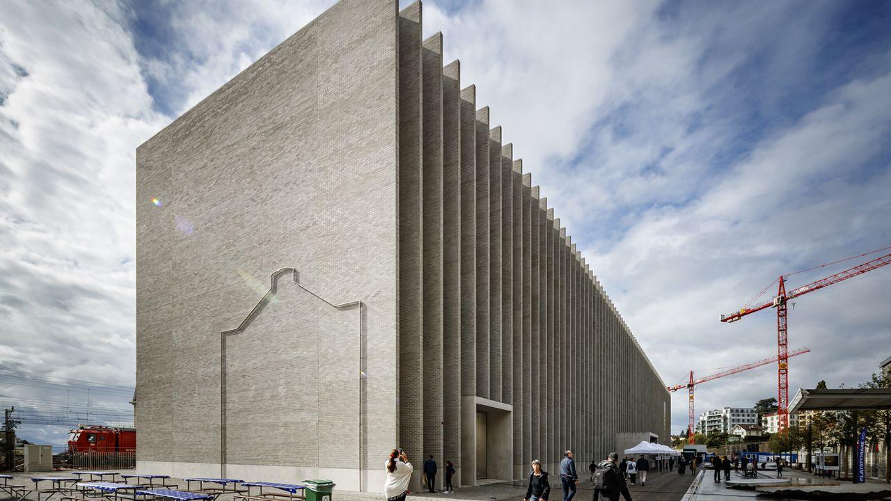 Le nouveau Musée des beaux-arts de Lausanne, inauguré en 2019. [Valentin Flauraud - Keystone]