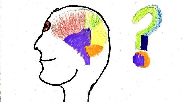 À quoi ressemble mon cerveau? Dessin réalisé par Sandro. [Sandro - RTS]