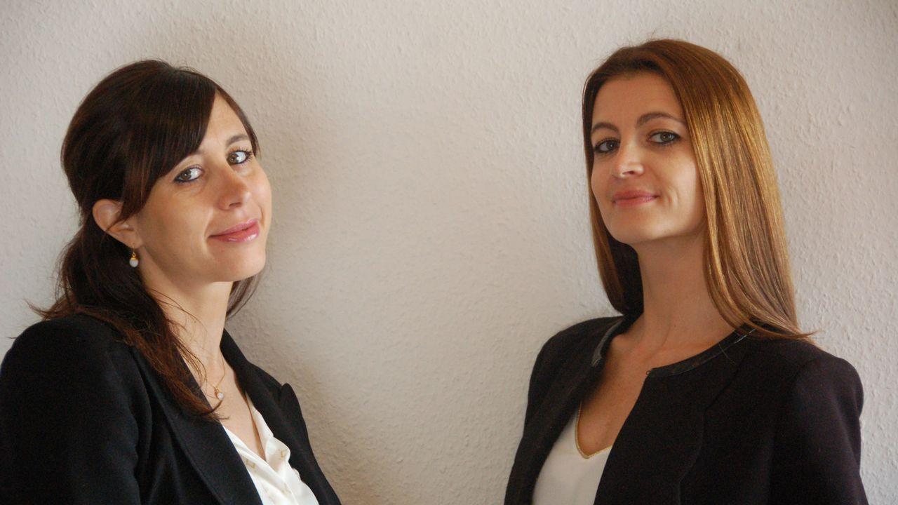 Perrine Valli et sa soeur Pauline. [DR]