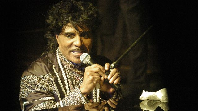 Little Richard lors d'un concert en République tchèque en 2005. [Marta Myskova - Keystone/Ap Photo]