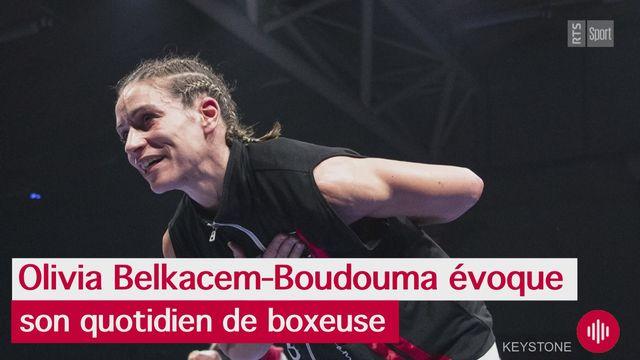 Interview d'Olivia Belkacem-Boudouma dans Sport Première [RTS]