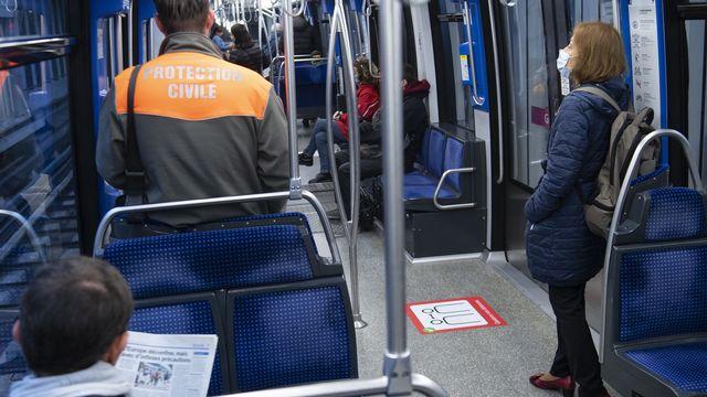 Dès demain les transports publics retrouveront un cadence presque habituelle. [Laurent Gillieron - KEYSTONE]