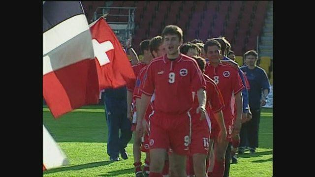 Euro M17 2002: la Suisse est championne d'Europe [RTS]