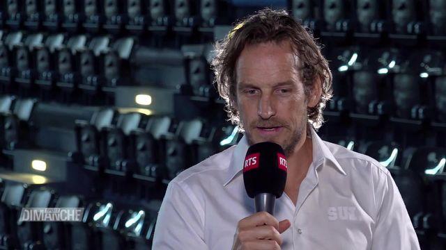 Hockey: Patrick Fisher à l'interview [RTS]