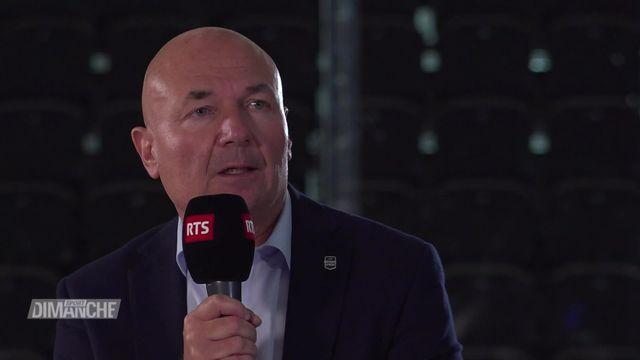 Hockey: Denis Vaucher au micro de la RTS (seconde partie) [RTS]