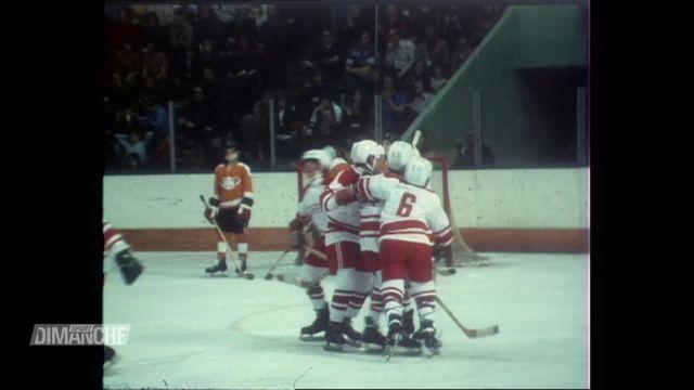 Hockey: archives 1973, deux jeunes Suisses au Canada [RTS]
