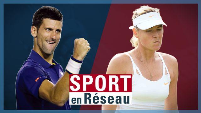 Djokovic et Sharapova se sont contactés via un Instalive la semaine écoulée. [RTS]