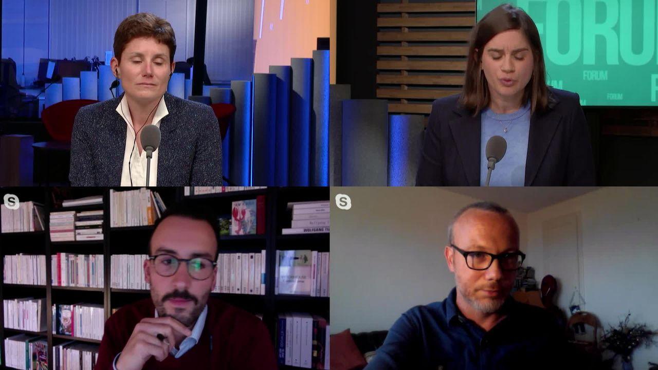 Le grand débat - Quand la pandémie transforme les villes [RTS]