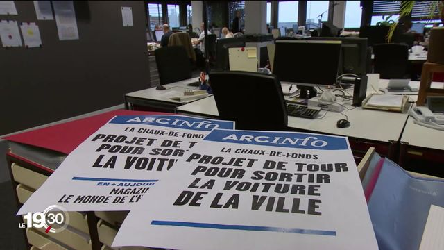 La presse régionale est durement touchée par la crise économique alors que les lecteurs sont en hausse [RTS]