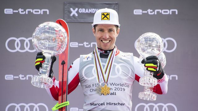 Marcel Hirscher a pour de bon tourné le dos à son immense carrière sportive. [Christian Bruna - EPA]