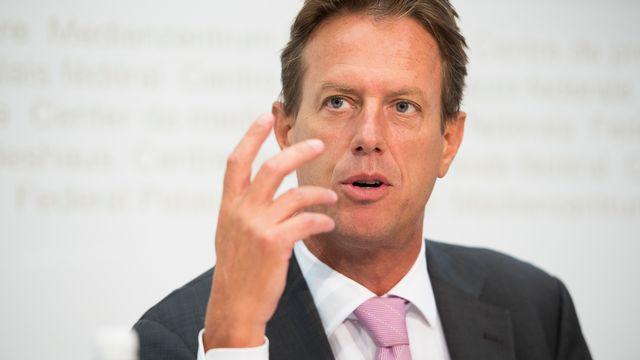 Christian Lüscher, conseiller national (PLR/GE). [Anthony Anex - Keystone]