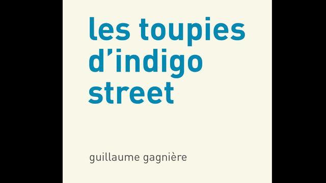 """La couverture du livre """"Les toupies d'indigo street"""" de Guillaume Gagnière. [éditions d'autre part]"""
